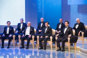 Award ceremony Tan