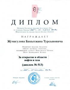 Диплом Жумагулов